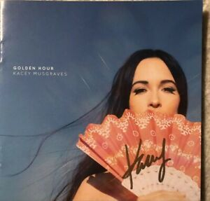 KACEY-MUSGRAVES-Golden-Hour-With-Autographed-CD-Booklet-GRAMMY-WINNER