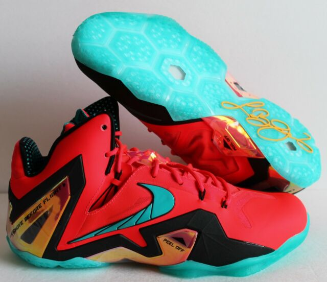 huge selection of c5831 29c11 ... ireland nike lebron xi 11 elite super hero pack laser crimson green sz  14 642846 db228
