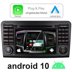 Android Auto 10 Autoradio GPS Navi für Mercedes Benz ML/GL Klasse W164 X164 DAB+