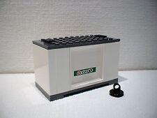 LEGO® Eisenbahn Container weiß für 3677, 7898, 7938, 7939 - City - NEU 3