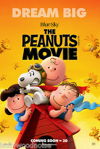 SNOOPY-and-CHARLIE-BROWN-The-PEANUTS-MOVIE-POSTER-C-2-side-ORIGINAL-27x40-howono