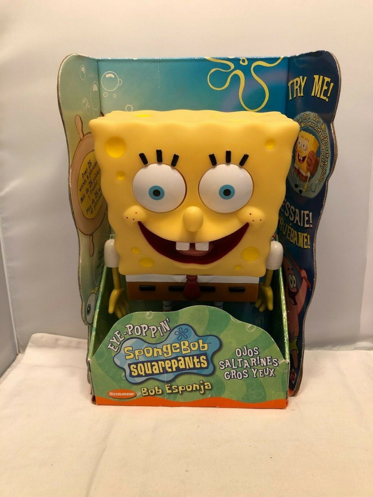 2002 Eye Poppin Spongebob Squarepants