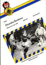 CWC EC II Semi Final 86/87 1. FC Lok Leipzig - Girondins Bordeaux, 22.04.1987