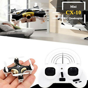 Cheerson-CX-10C-2-4G-4CH-6-Axle-RC-Quadcopter-Mini-Drone-RTF-W-0-3MP-Camera-Toy