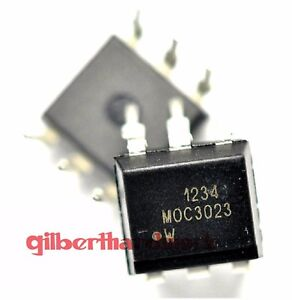 10-Photoelectric-Coupling-Moc3023-Transistor-Output-Dip-6-Straight-Pin-Component