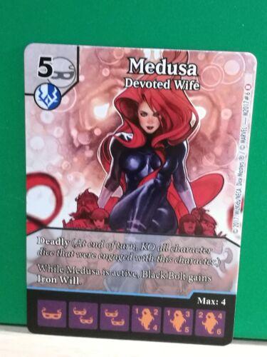 Medusa Dice Masters Promo Uncanny Inhumans