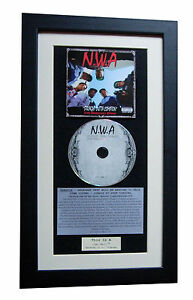 NWA-Straight-Outta-Compton-CLASSIC-CD-TOP-QUALITY-FRAMED-EXPRESS-GLOBAL-SHIP