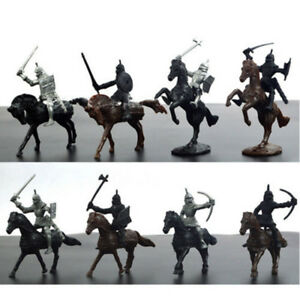 28PCS-set-Soldier-Model-Medieval-Knight-Warriors-Horses-Playset-Toy-Culture-Gift