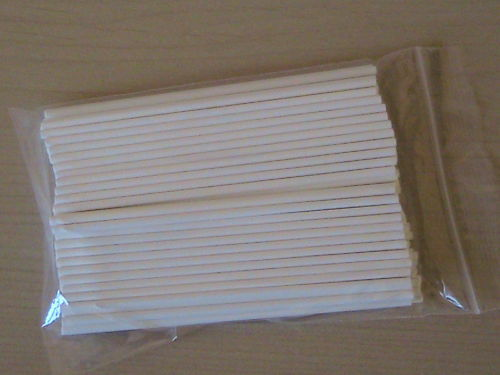 "100-190 mm en plastique LOLLY POP 7.5/"" bâtons LOLLIPOP COOKIE au chocolat moule"