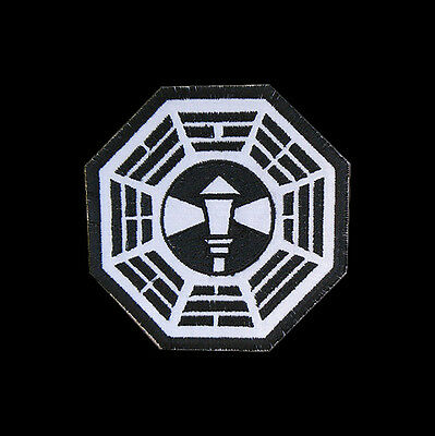"""LOST Dharma Initiative Embroidered patch """"Lamp Post"""""""