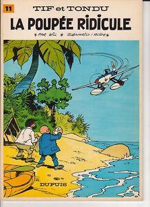 Tif-et-Tondu-11-La-poupee-ridicule-WILL-1968-Superbe