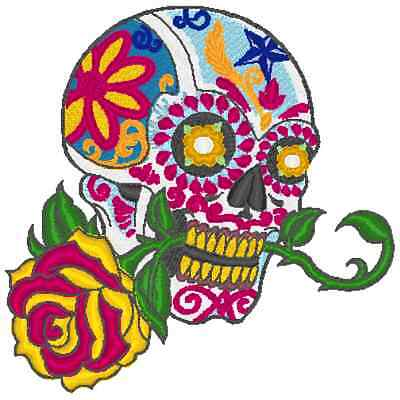Embroidery Machine Pattern Designs 11 Skulls And Sugar Skull Designs