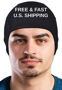 50 Keep Your Head COOL MOISTURE Wicking Beanie Tech Helmet Liner Gym Sports UPF