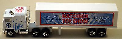 DTE 2015 HERSHEY MATCHBOX TOY SHOW KENWORTH CONVOY TRACTOR TRAILER TRUCK 1/35