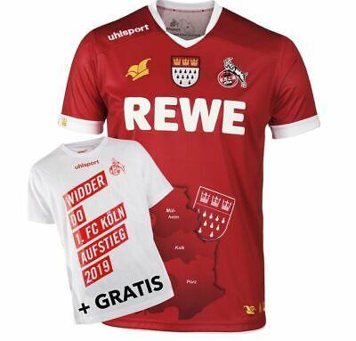 1.FC Köln Trikot Away 20192020, Auswärtstrikot, für Kinder, rot, 116