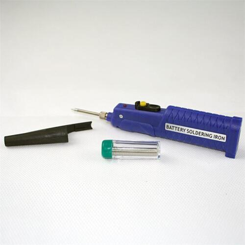 Batterielötkolben Batteriebetrieb Batteriebetriebener Lötkolben mit Lötzinn