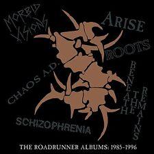 Sepultura 'The Roadrunner Albums: 1985-1996' 6 CD Box Set - NEW