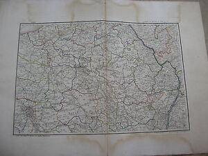 Art Adaptable Karte Von Der Nordosten frankreich Luxemburg Von Chanlaire Karte Antik
