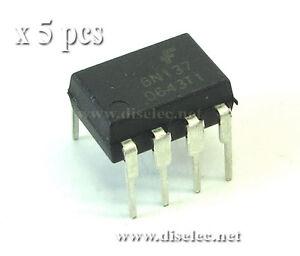 5-unidades-6N137-Optoacoplador-de-alta-velocidad-DIP8