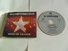 SCORPIONS - Wind Of Change (CD Single 1990) UK Pressing