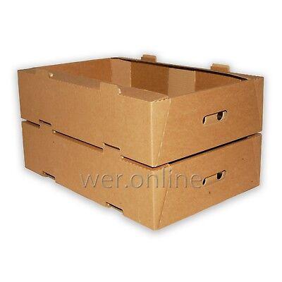 "5/"" x 5/"" x 5/""  Kraft Shipping Corrugated Storage Mailing Postal Boxes 25 Pc"
