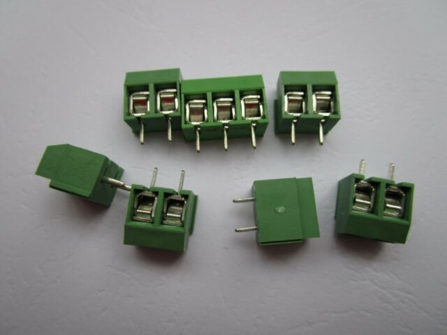 KF128-2P 2Pin 5.08mm//0.2/'/' straight PCB Universal Screw Terminal Block Connector