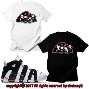 Custom T-shirt assorti T Shirt Air Plus uptempo Italie UTP 1-35-2