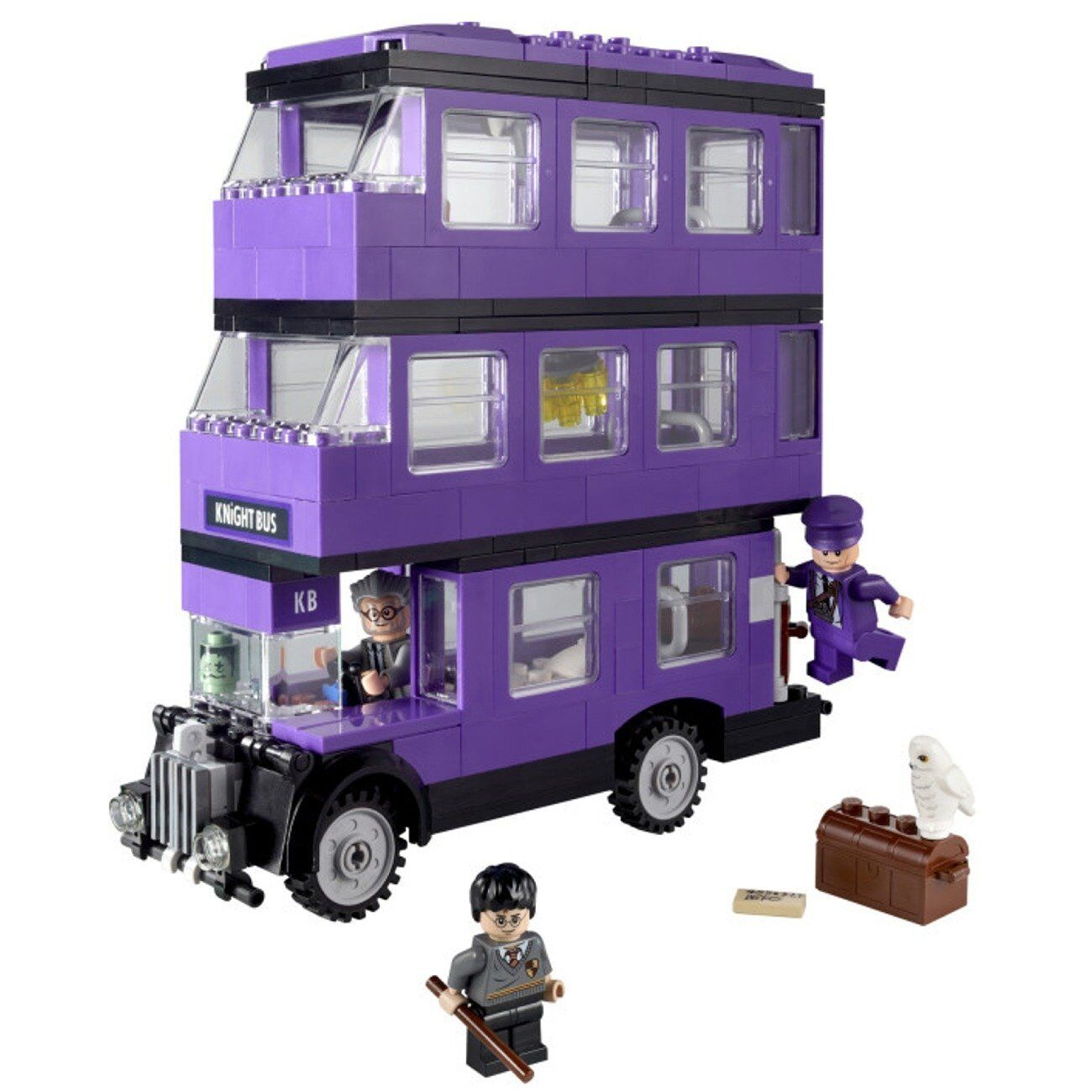 Nuovo LEGO Harry Potter The Knight Bus  4866  Retirosso