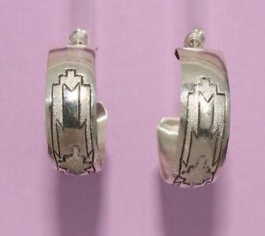 Silver-Half-Hoop-Earrings-by-Zane-Tahe-Navajo