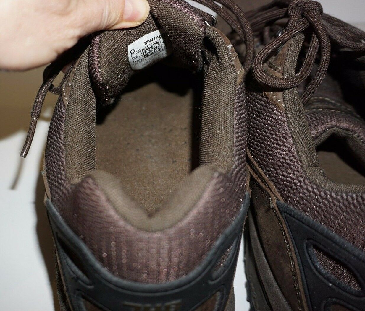 New Balance MW748BR Country 13 Walk Braun Sneakers Größe 13 Country D 01f20a