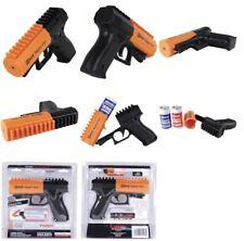 Police Pepper Gun 20 Equipped W Disorienting Led Strobe Light 20ft Spray Range