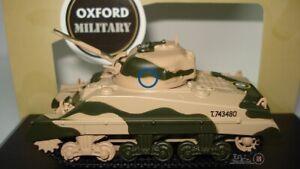 OXFORD  SHERMAN TANK MK III 10th ARMOURED DIVISION 1942 ESCALA 1:76 RFA 76SM001