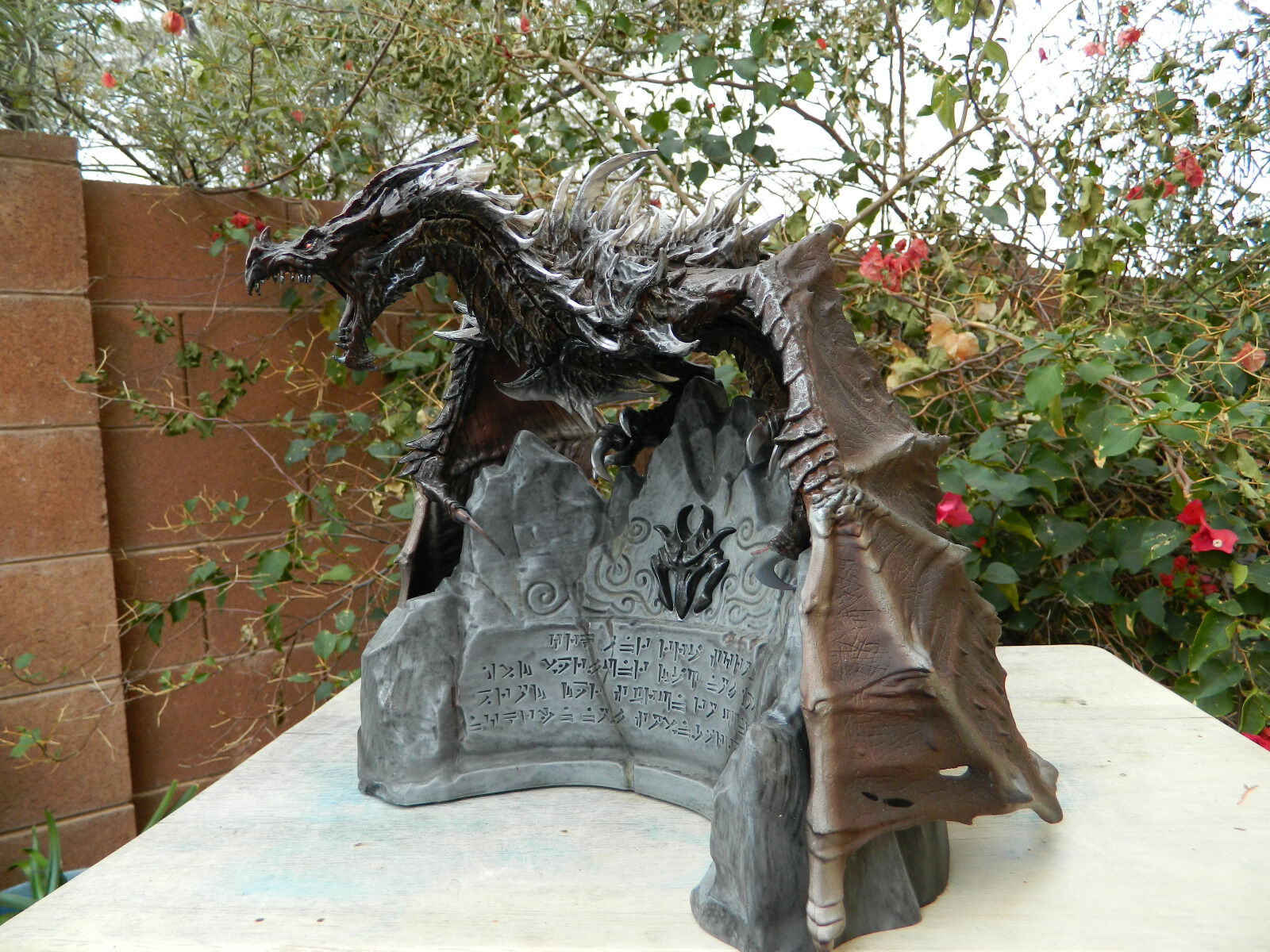 Alduin cielorim Dragon Statue cielorim Collectors D&D Pathfinder colossal gargantuan