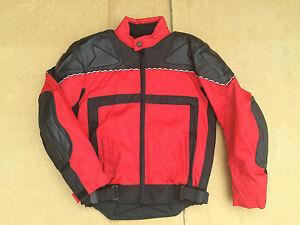 J-amp-S-Mens-Textile-Motorbike-Motorcycle-Jacket-Size-UK-38-034-Chest-C62