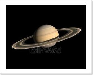 Planets In Space Art Print Home Decor Wall Art Poster C