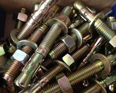 Fixing bolts for pallet racking  M12 x 100mm Floor Anchor Fixings Pack of 108