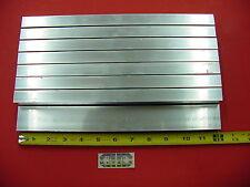 8 Pieces 34x 1 12x 18 Wall Aluminum Rectangle Tube 6063 T52 X 12 Long