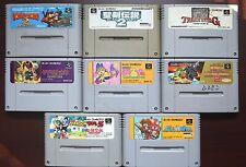 Super Famicom SFC Donkey Kong Treasure Hunter King Monster Japan 8 game lots