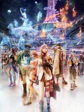 POSTER FINAL FANTASY 13 XIII LIGHTING SNOW VERSUS #1