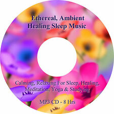 8 Heures Ethereal Ambiance Thérapeutique & Sleep Musique MP3 CD Relaxation