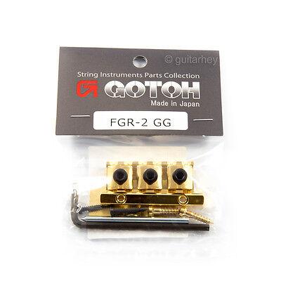 "GOTOH FGR-1 Floyd Rose Guitar Locking Nut Bottom Mount R2 1 5//8/"" 41mm Gold"