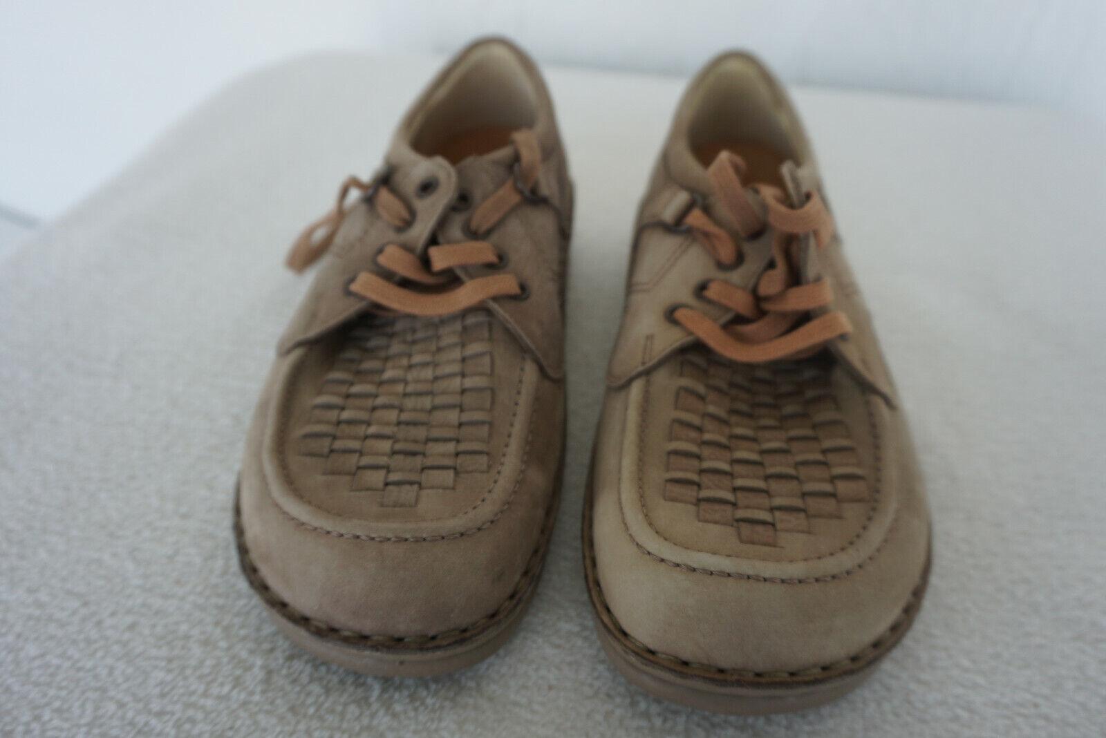 Finn Comfort Denver Homme Chaussures à Lacets Semelle Intérieure Gr.42 Cuir