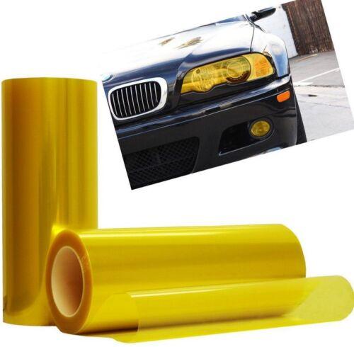 Auto Car Fog Light Headlight Taillight Smooth Color Car Light Film Sticker FR