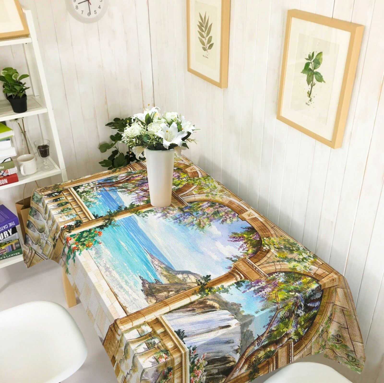 3D Archway Sky 066 Tablecloth Table Cover Cloth Birthday Party Event AJ Summer