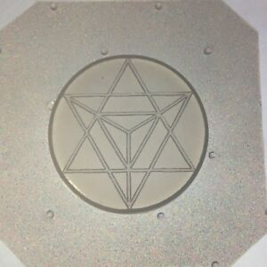 Small Flexible Resin Seed of Life Mold Sacred Geometry 35mm Diameter