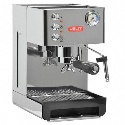 Siebträgermaschine Espressomaschine Cappuccino Milchaufschäumer Lelit PL41 EM