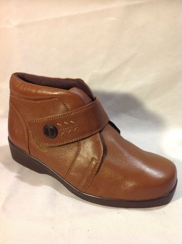 Orthopedic Brown Ankle Boots Size 5