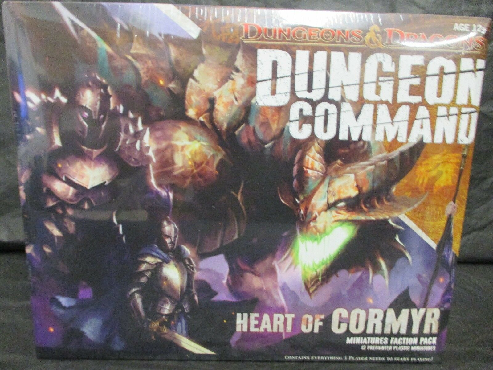 Dungeon Command Heart of Cormyr  NIB  Sealed