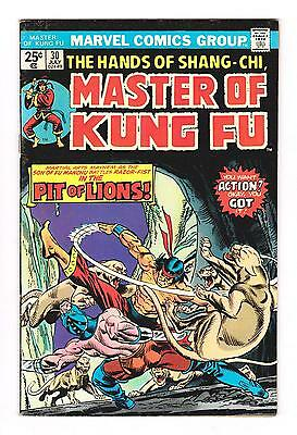 ships Free A Gulf Of Lions The Hands Of Shang-chi Master Of Kung Fu 30 * 100% High Quality Materials vf-