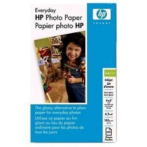 2-Genuine-Q5440A-HP-Everyday-Glossy-Photo-Paper-100-sht-4-x-6-in-plus-tab